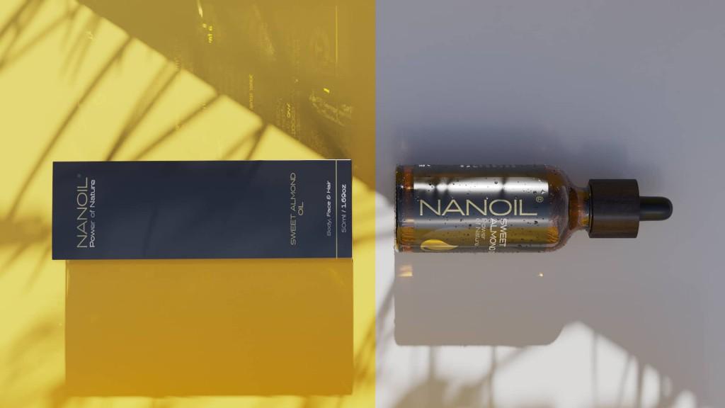 Mandelöl von Nanoil zur Körperpflege